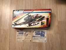 1983 Gi Joe Assualt Copter Dragonfly XH-1 Empty Cut Box w/ Paper Only