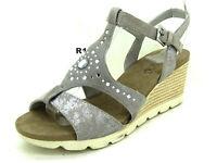 Caprice Schuhe Damenschuhe Pumps Sandaletten Sandalen Leder Gr 38,5 Uk 5 1/2