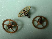 Angelus 210-215-217 Chronodato : 1 NOS center wheel with canon  pinion , rare!