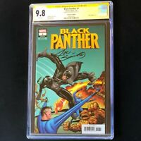 BLACK PANTHER #1 CGC 9.8 SS REMASTERED EDITION Jack Kirby Variant Cover 1:500