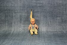 Vtg Antique DollHouse Miniature Furniture Accessory Baby Hard Plastic Figure