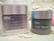 BLISS-MULTI-'FACE'-ETED-ALL-IN-ONE-ANTI-AGING-CLAY MASK-2.3 OZ.-NIB!