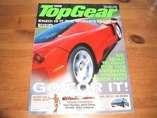 TOP GEAR MAGAZINE JUN-2003 - Ferrari Enzo, Mondeo ST220, Jaguar XJ, Ford Streeka