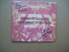 Groove Armada - Last Night In Brixton - Signed Edition.....Brand New
