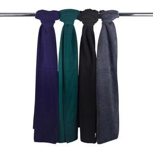 Men's Micro Fleece Scarves-5157