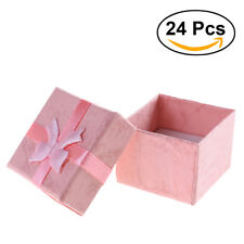24pcs Boxes Cases Jewelry Rings,Earrings Small Gift Boxes/set Wholesale US