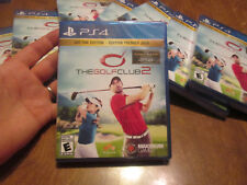 The Golf Club 2 PS4 Sony 2017 DAY ONE EDITION BRAND NEW FACTORY SEALED