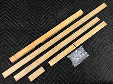Williams Gorgar Pinball Machine Playfield Side Rails Hardware Lot Set