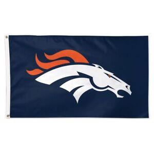Denver Broncos Wincraft NFL Logo 3x5 Deluxe Flag