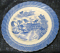 Cauldon Semi China tea plate Ching pattern approx 7 1/4 inches diameter