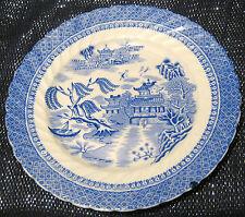 Cauldon Semi China Té placa Ching patrón Aprox 7 1/4 pulgadas de diámetro