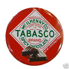 Tabasco Chilli Chocolate Spicy Dark Chocolate Wedges 50g Tin Best Before 28/2/18