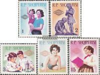 Albanien 949-953 (kompl.Ausg.) postfrisch 1965 Intern. Kindertag
