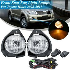 Pair Front Bumper Fog Light Lamp Switch Kit For Toyota Hilux 2008 2009 2010