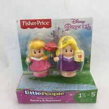 NEW Fisher Price Little People Disney Princess Ariel & Jasmine Lamp Shell Castle