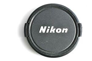 GENUINE ORIGINAL NIKON 1980'S VINTAGE FRONT SNAP ON PLASTIC LENS CAP 72mm