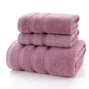 """27""""X55"""" Bath Towels Large Bamboo Fiber Absorbent Beach Towel Thickened"""