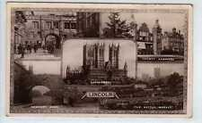 (La3509-180) Real Multiview Photo of LINCOLN c1920 Used G-VG