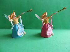 Papo 39013 BLUE FAIRY & 39009 PINK FAIRY - Fantasy Figures