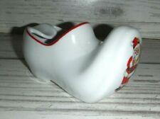 Santa Claus Real Brazil Porcelain Dutch Shoe Ashtray