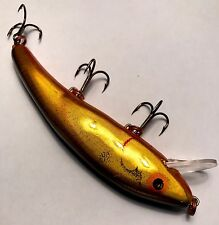 Vintage G Finish Cotton Cordell Riplin Redfin Gold/ Orange Lure