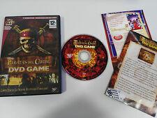 PIRATAS DEL CARIBE DVD GAME JUEGO PARA PC DISNEY EN ESPAÑOL + EXTRAS