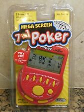 2005 Mega Screen 7 In 1 Poker Lg Screen Hand Held Video Electronic Game RecZone