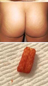 Flamin Hot Cheeto Ultra Rare Butt Cheek Hot Cheeto Fries !!!!!!