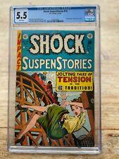 Shock Suspenstories #13 CGC 5.5 EC Comics 1954 Frank Frazetta's Only EC Story