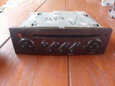 CD RADIO RENAULT CLIO II autorradio + code Metálicos Color