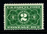 """[DZ]   US #JQ2 Mint-OG 1912  2c """"PARCEL POST POSTAGE DUE"""" Issue...Free Shipping"""