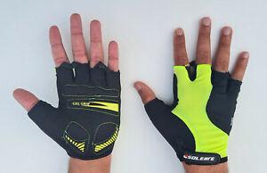 Half Finger Cycling Gloves Bike Gel Padded Fingerless Cycle Gloves