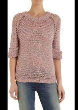 Iro Kima Pink Sweater Size Small/ 1 Retail $485