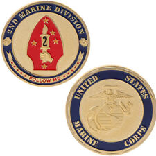Marine Corps 2nd Marine Division Commemorative Coin Collection Art Gift Souvenir