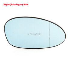 Right Side Door Mirror Glass For BMW E90 E87 E82 E88 E91 E92 Heated Wing Blue RH