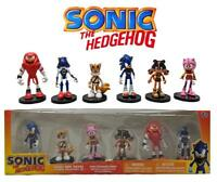 Sonic the Hedgehog 6 Figure Box Set Sega Mini Cake Toppers 26