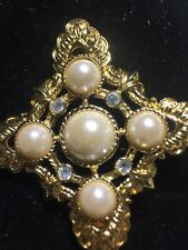 K.J.L. For Avon Maltese Brooch