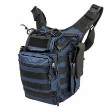 NcStar Tactical First Responders Utility Bag Mag Pouch Shoulder Bag Blue/Black