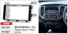 Carav 11-637 2din marco adaptador radio Mitsubishi L200 Pajero Sport Triton