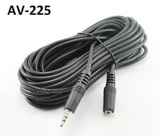 25ft 3.5mm Stereo Audio Male to Female Extension Cable/Cord, CablesOnline AV-225