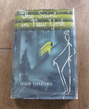 THE SAINT IN NEW YORK by Leslie Charteris - 1st HCDJ 1935 - Doubleday - VG+