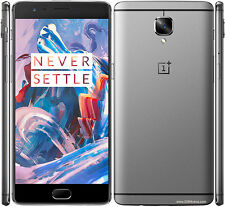 One Plus 3 (Graphite, 64GB) with one year Manufacturer warranty Open box