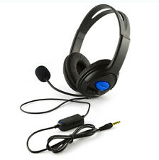 Wired Gaming Headset Headphones with Microphone for PS4 PC Laptop Phone - UK