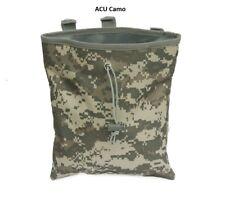 Metal Detecting Finds or Trash Bag/Pouch,Hip/Belt Mount,Drawstring Closure. ACU