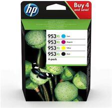 HP 953XL Tintenpatrone 4er-Pack Schwarz/Gelb/Cyan/Magenta (3HZ52AE)