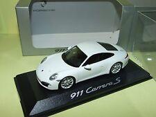 PORSCHE 911 CARRERA S 997 Blanc MINICHAMPS 1:43
