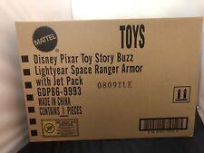 Mattel Disney Toy Story Buzz Lightyear Juguete astronauta casco & Jetpack & Caja De Comercio