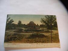 ANTIQUE POSTCARD VIEW IN HERMAN PARK GOLDSBORO NC POSTED 1907