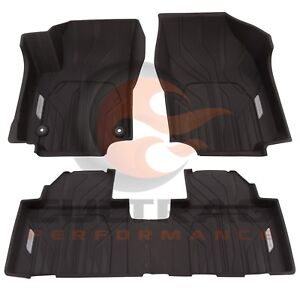 2018-2020 Equinox Genuine GM Front & Rear All Weather Floor Liners Black