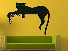 Panther Vinyl Sticker Wall Decal Cat Animal Art Home Decor